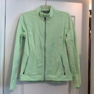 Athleta Women's lime/neon green jacket